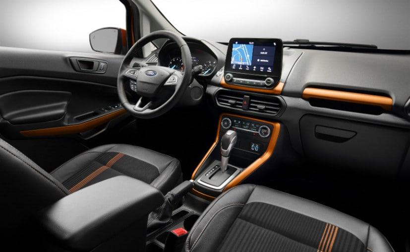 Ford Ecosport 2017 cabin