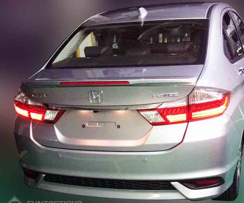 Delightful 2017 Honda City Facelift Leaked Pictures Gallery
