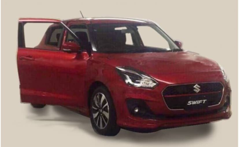 2017 Maruti Suzuki Swift Leaked In New Spy Shot
