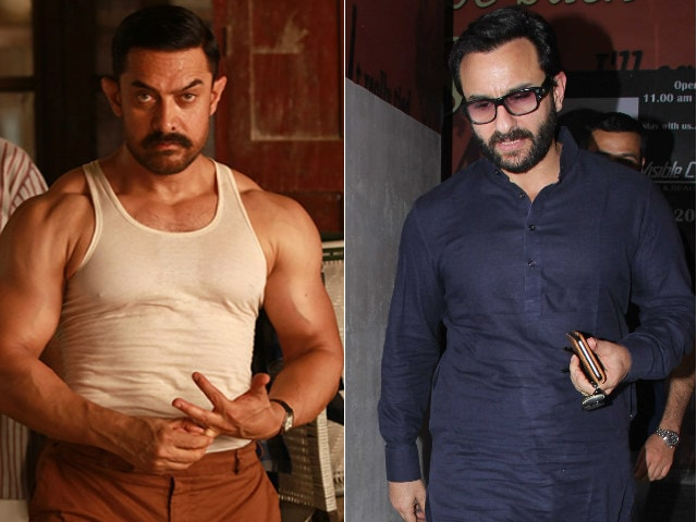 Dangal: Saif Ali Khan Describes Aamir Khan's Film In One Word