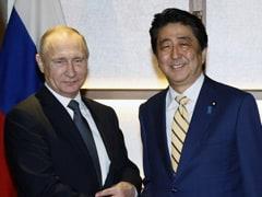 Vladimir Putin And Shinzo Abe Talk On Japan-Russia Territorial Dispute
