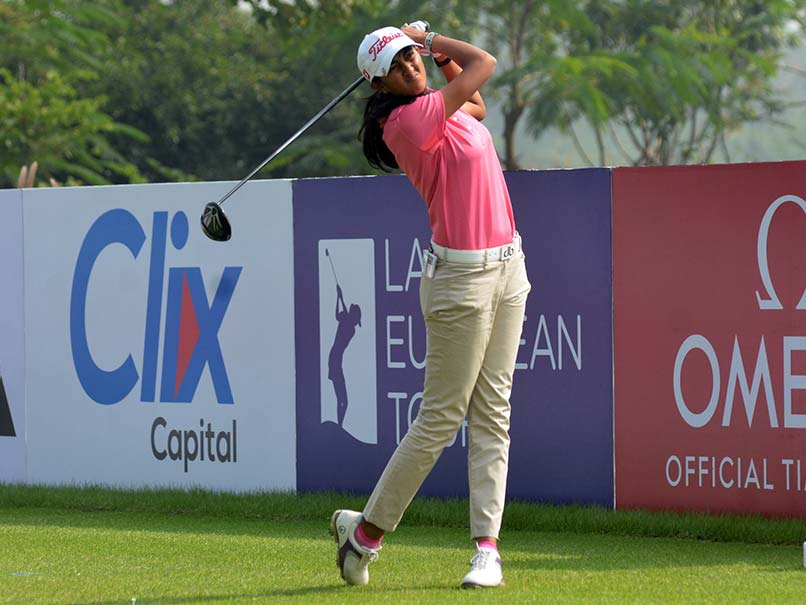 Golfer Aditi Ashok Earns Partial LPGA Tour Membership