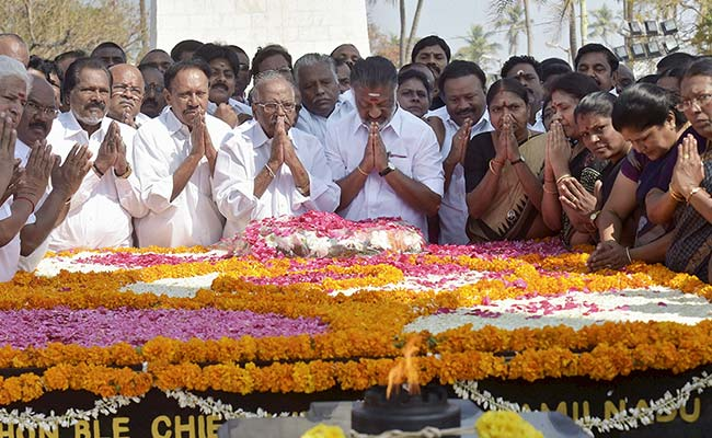 Centre To Issue Coin On MGR's Birth Centenary, Says O Panneerselvam