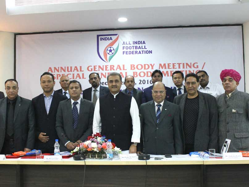 Praful Patel Re-Elected AIFF President
