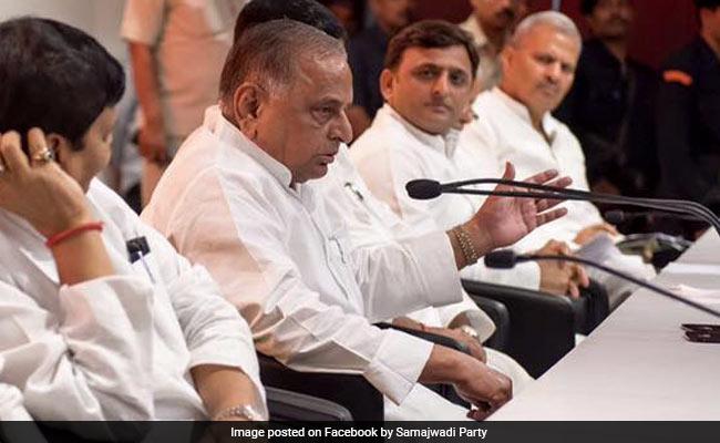 Yogi Adityanath's Jibe At Akhilesh Yadav As Mulayam Singh Praises PM Modi