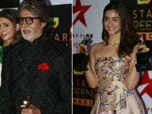 Screen Awards 2016: Amitabh Bachchan And Alia Bhatt Are Top Winners