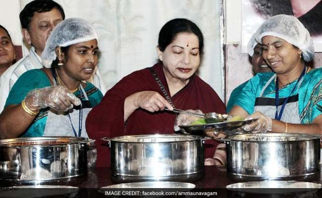 From Canteens To Parks: How Brand Amma Became Jayalalithaa's Identity