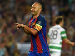 Andres Iniesta Keen to Extend Barcelona Contract