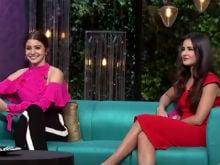 <i>Koffee With Karan 5</i>: Anushka Sharma And Katrina Kaif Brew A Strong Koffee That Karan Johar Couldn't Handle