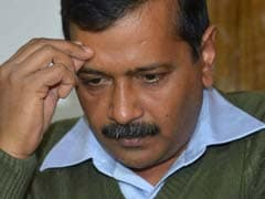 70 BJP Councillors Detained Outside Arvind Kejriwal's Residence