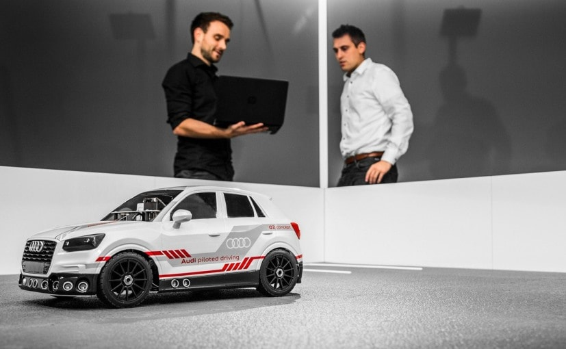 Audi Builds Miniature Q2 To Test Autonomous AI Technology