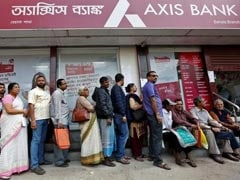 Axis Bank Posts Smaller-Than-Expected Fall In Q1 Net Profit