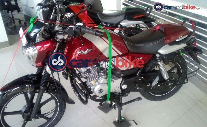 bajaj v12 gets new wheels and no disc brake