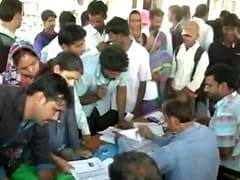 Bank Camps Come Up In Jaipur As Workers Get Ready For Pay Day