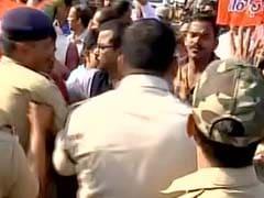BJP-BJD Workers Clash During Bhubaneswar Shutdown