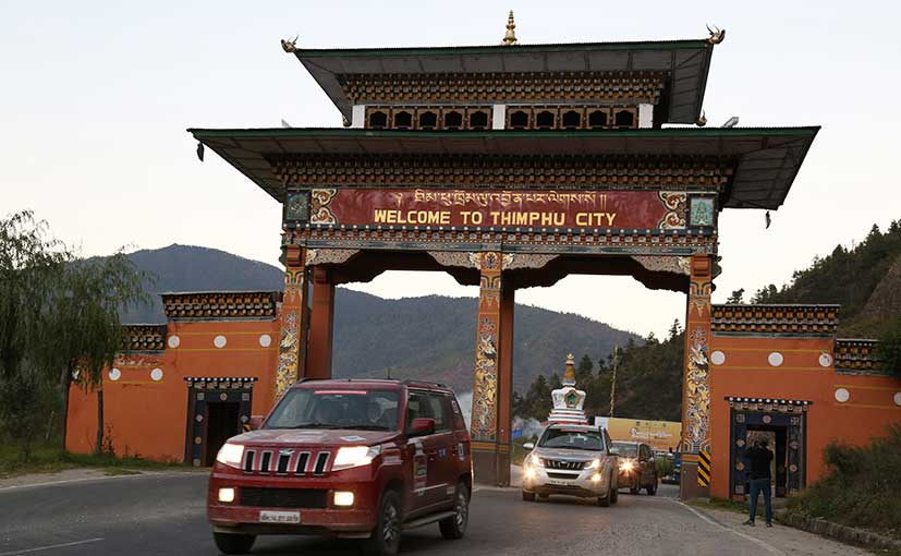 Bhutan's capital city - Thimphu