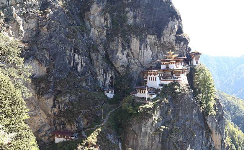 bhutan travelouge Taktsang Monastery