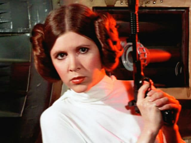 Star Wars' Carrie Fisher Is In A Galaxy Far, Far Away. Celebs Mourn On Twitter