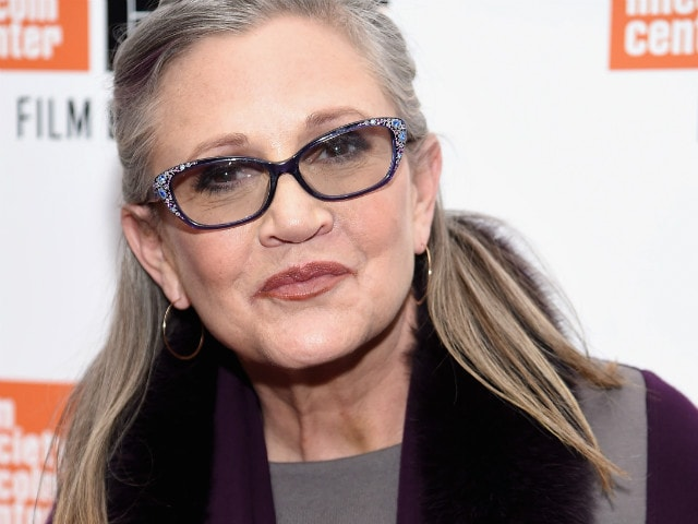 Actress Carrie Fisher In Intensive Care After Heart Attack On Flight