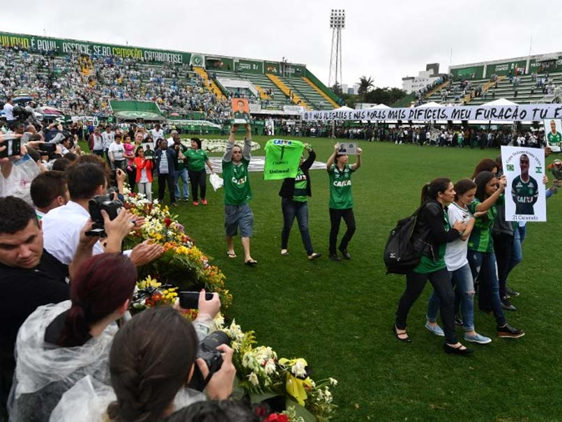 Brazil Mourns Fallen Football Team in Pouring Rain