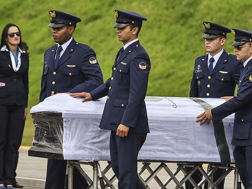 Bodies of Colombia Plane Crash Victims Flown Home
