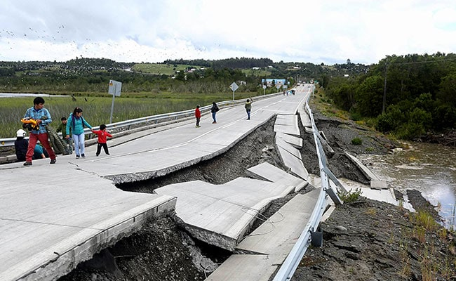 Major Earthquake Jolts Chile Tourist Region On Christmas