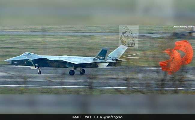 चीन ने लद्दाख के पास जे -20 फाइटर जेट्स को फिर से तैनात किया: रिपोर्ट