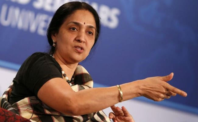 NSE's Chitra Ramkrishna Earned Rs 23 Crore In 8 Months Of FY'17
