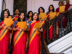 Indian-Americans Celebrate Christmas At The Indian Embassy In US