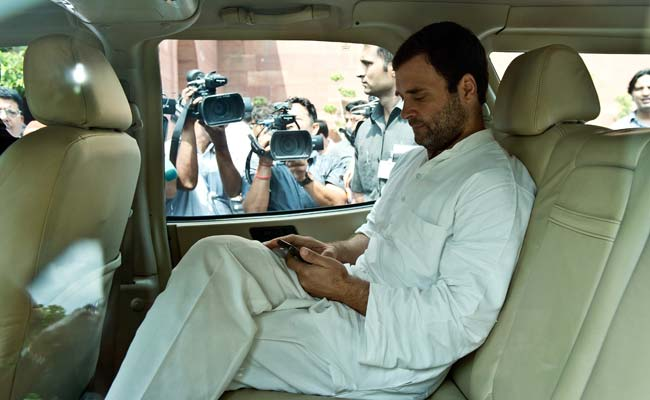 Hours After Twitter Hack, Rahul Gandhi Tweets Love For 'Beautiful' Haters