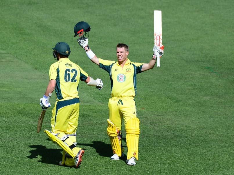 3rd ODI: David Warner Ton Powers Australia to Series Clean Sweep Over New Zealand