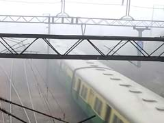 13 Trains Delayed After Dense Fog Engulfs Delhi