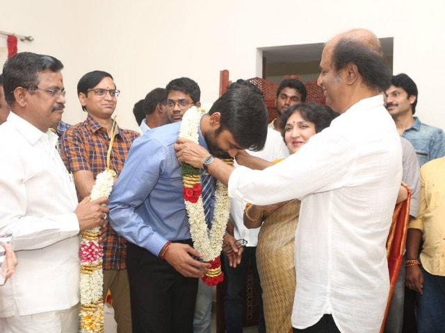 Dhanush's VIP 2 Kick-Starts With Rajinikanth's Blessing