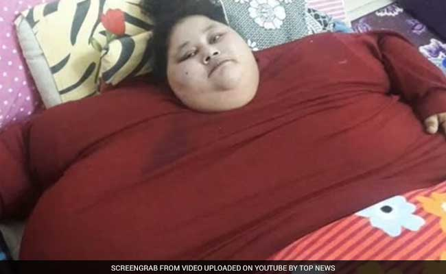 500 Kg Eman, World's Heaviest Woman, Lands In Mumbai, Lifted By A Crane