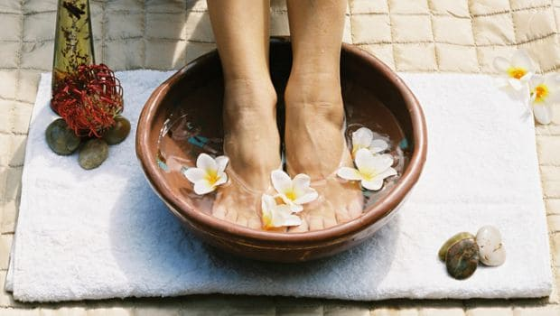 5 Effective Home Remedies For Swollen Feet Ndtv Food