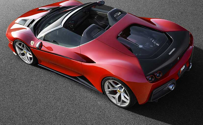 This Is The New Ferrari J50! , CarandBike