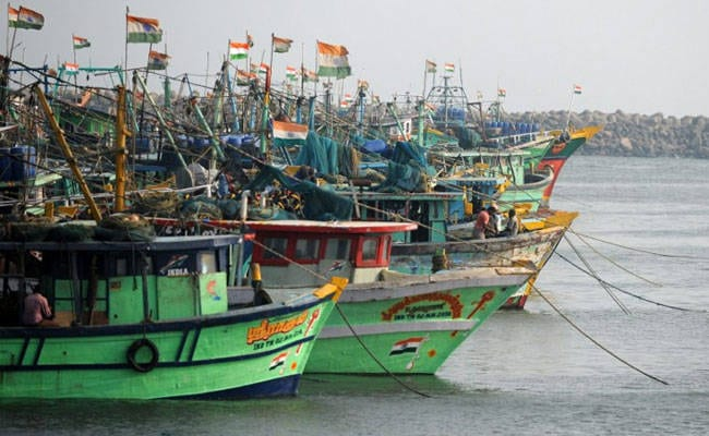 Sri Lankan Navy arrests Indian fishermen, damage another Indian boat