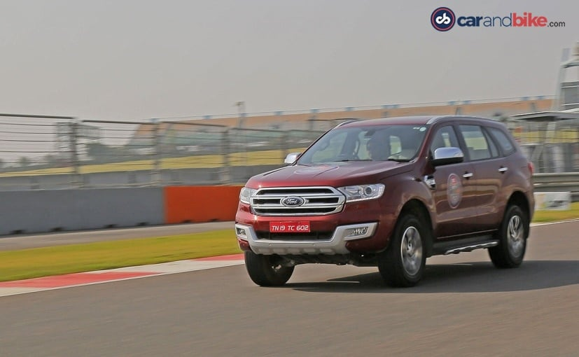 Post GST Ford Endeavour Manual Variant Prices Listed In A Leaked Document