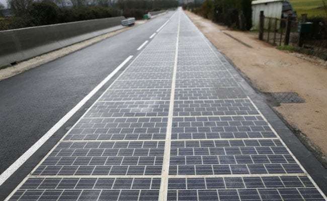 In First, Road Paved With Solar Panels Powers French Town