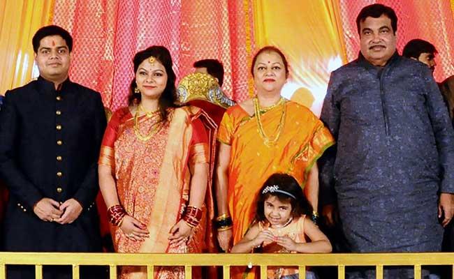 Senior Leaders, Ministers Attend Wedding Of Nitin Gadkari's Daughter
