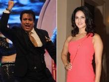 सनी लियोनी और गोविंदा ने साथ में किया डांस, 'अंखियों से गोली मारे'  पर थिरकते दिखे दोनों