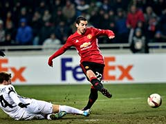 Mkhitaryan Breaks Duck as Manchester United go Through to Europa Last 32