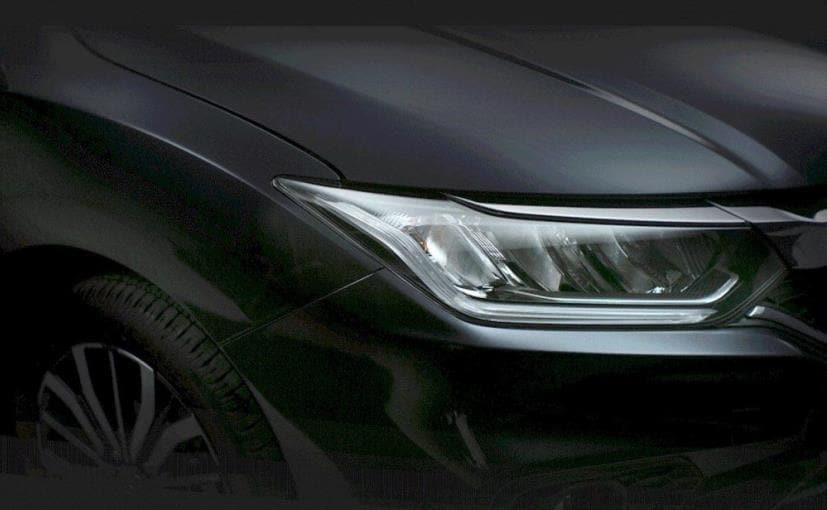 honda city facelift restyled bonnet and new wheels