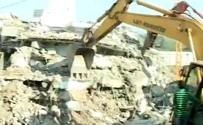 4 Dead, Many Feared Trapped After 6-Storey Building Collapses In Hyderabad