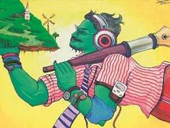 आईआईटी-बांबे में हनुमान की पेंटिंग पर विवाद, शिवसेना के विरोध के चलते हटी