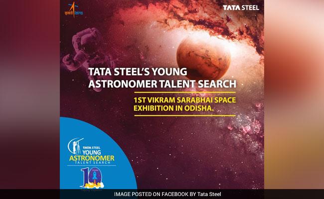 Tata Steel Brings First Ever ISRO Exhibition To Odisha