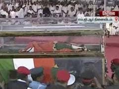2 Tonne Flowers, 40 Workers In Jayalalithaa's Procession Truck