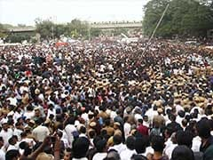 360 Degree View Of Thousands At Jayalalithaa's Funeral