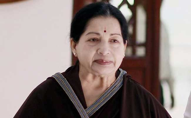 Another Plea Seeks Investigation Into Former Tamil Nadu Chief Minister Jayalalithaa's Death