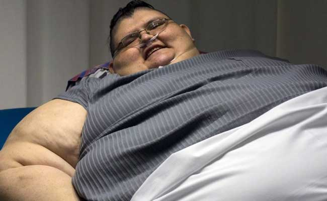 One Big Resolution: World's Fattest Man Aims To Reduce Weight By Half